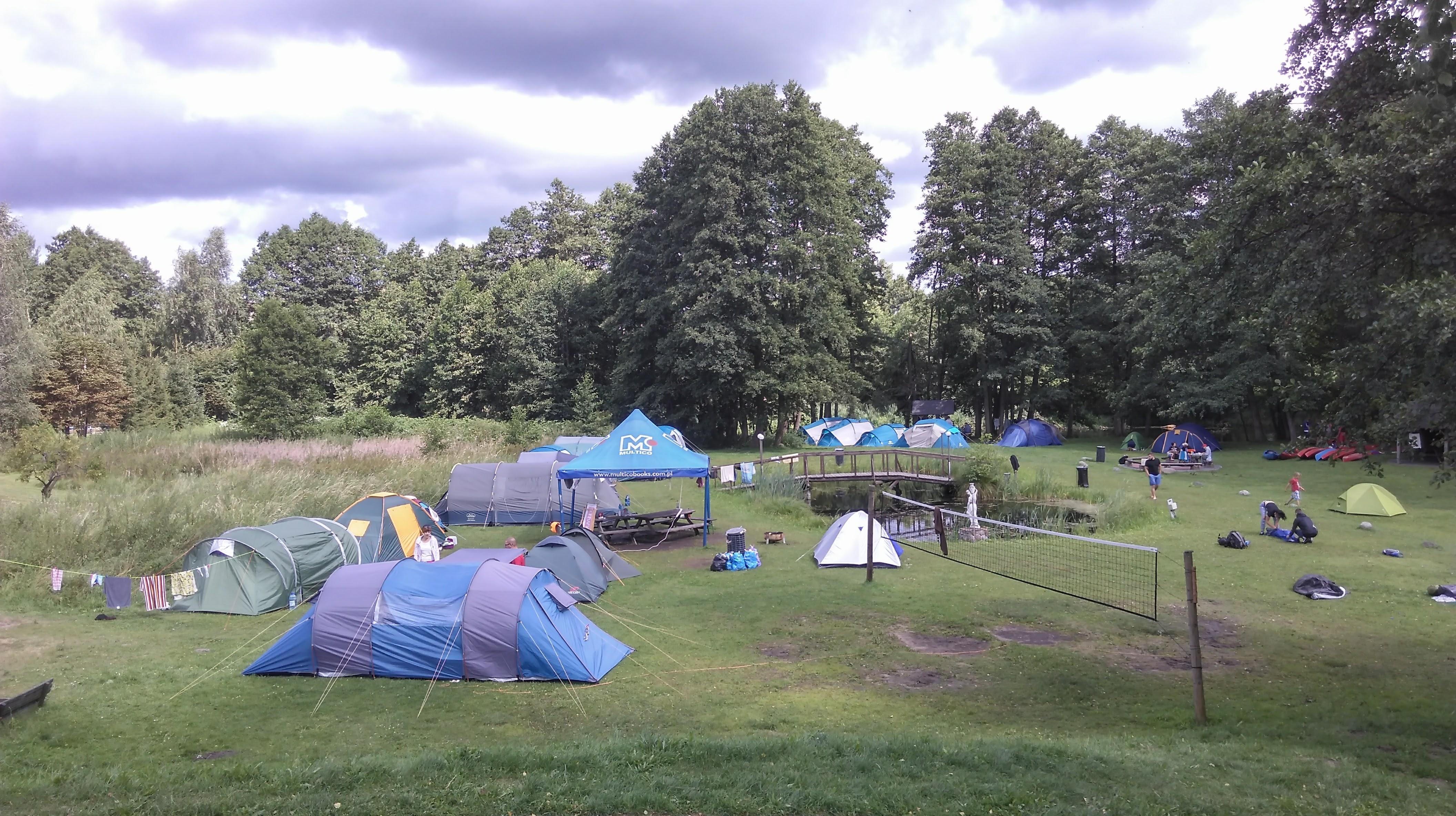 Pole namiotowe Pod Świerkami